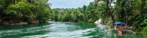 Lombok river boat cruise