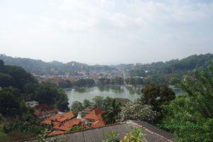 Výhľad na mesto Kandy