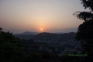 Západ slnka v Kandy