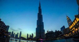 Burj Khalifa - night