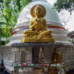 Biela pagoda v chráme Gangaramay