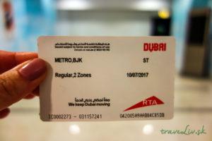 Metro karta Dubaj