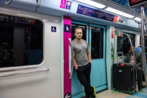 Metro v Dubaji