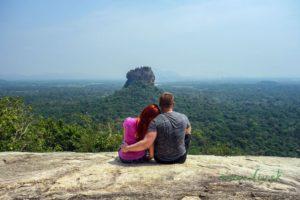 Na vrchole Pidurangala Rock a úžasný výhľad na Sigiriyu