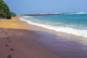 Pláž v Mirissa