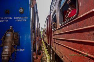 Cesta vlakom z Kandy do Ella