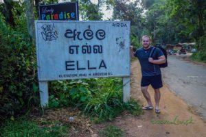 Začiatok dedinky Ella