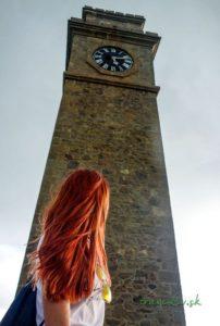 Hodinová veža v Galle