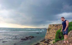 Pobrežie v Galle