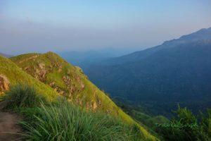 Výhľad z vrchu Little Adam´s Peak