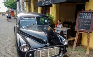 Kaviareň v Galle