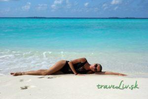 Pohodička na Maldivách
