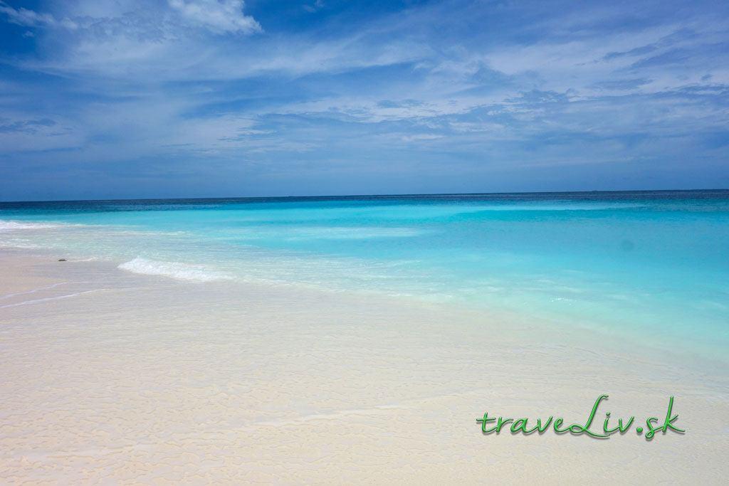 Pláž na Ukulhas