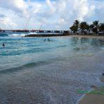 Pláž v Malé