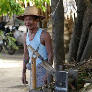 Betel smile Myanmar