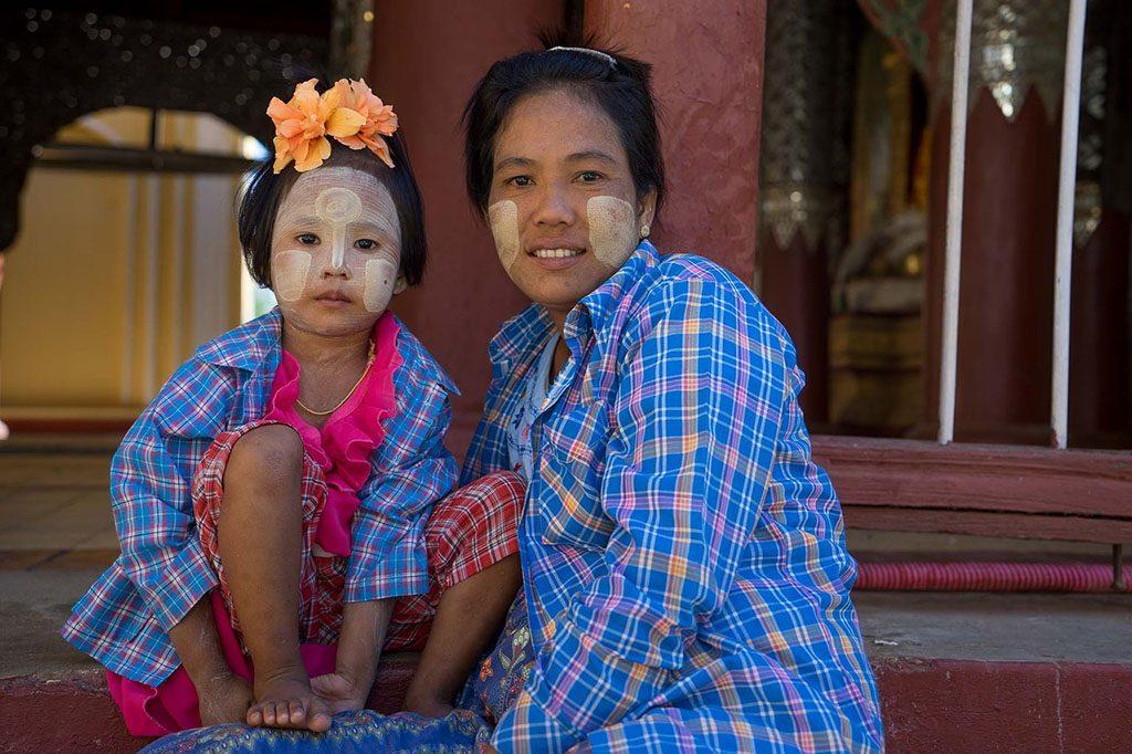 Myanmar tanaka