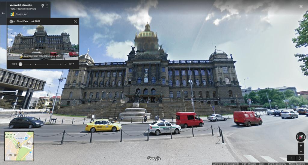 google maps - cas 2009