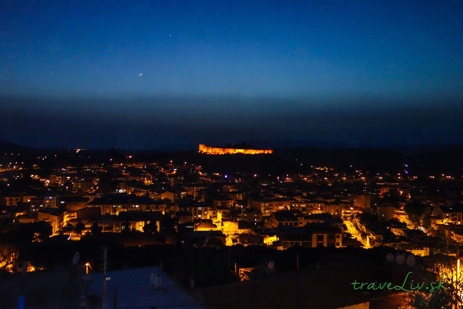 Selcuk at night