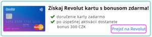 revolut s darcekom 300czk